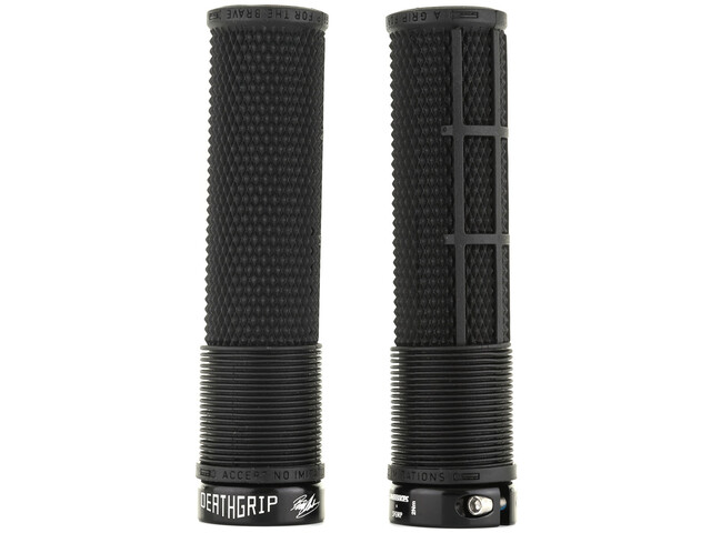 DMR Brendog FL DeathGrip Lock-On Grips Ø31,3mm black